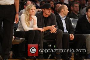 Kirsten Dunst and Garrett Hedlund - Celebrities courtside at the Los Angeles Lakers v New Orleans Pelicans NBA basketball game...