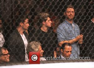 Niall Horan, Shane Filan and Brian McFadden - UFC Fight Night London: Gustafsson vs Manuwa held at The O2 -...