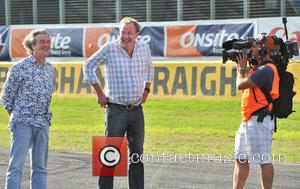Jeremy Clarkson and James May - Top Gear Festival Sydney 2014 - Sydney, Australia - Sunday 9th March 2014