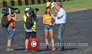 Jeremy Clarkson and Michelle Jenneke - Top Gear Festival Sydney 2014 - Sydney, Australia - Sunday 9th March 2014
