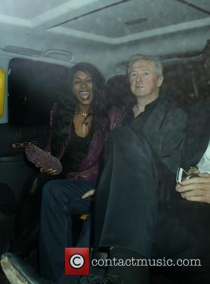 Louis Walsh and Sinitta - Simon Cowell and friends leaving The Arts Club - London, United Kingdom - Tuesday 11th...