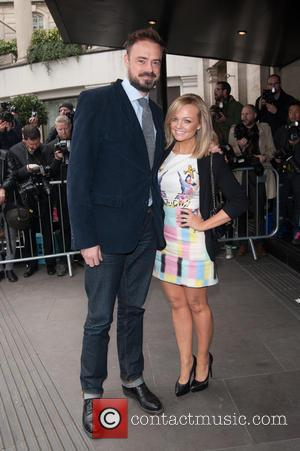 Emma Bunton and Jamie Theakston - The 2014 Tric Awards held at The Grosvenor House - Arrivals. - London, United...