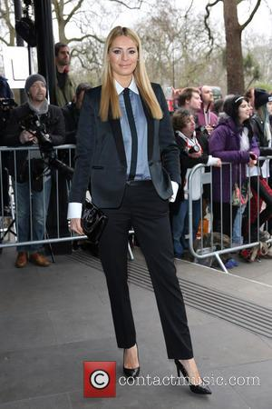 Tess Daly - The Tric Awards 2014 held at the Grosvenor House Hotel - Arrivals - London, United Kingdom -...