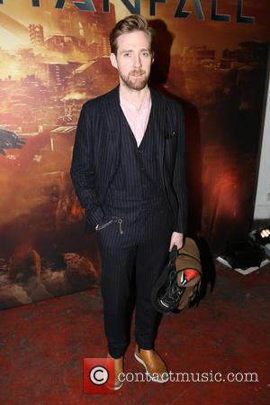 Ricky Wilson - Titanfall UK Launch Party at the Boiler House in the Old Truman Brewery. Celebrities and fans played...