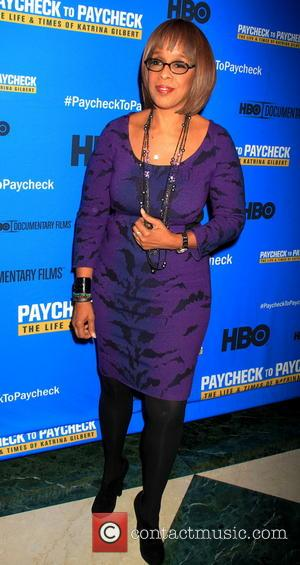 Gayle King - 'Paycheck To Paycheck: The Life And Times Of Katrina Gilbert' New York Premiere - Red Carpet Arrivals...
