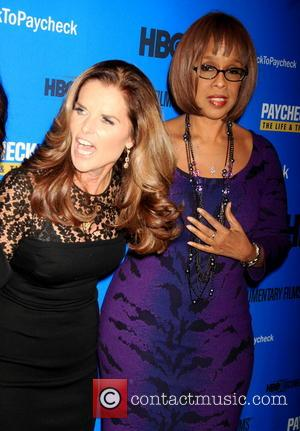 Maria Shriver and Gayle King - 'Paycheck To Paycheck: The Life And Times Of Katrina Gilbert' New York Premiere -...