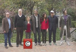 Jaume Roures, Tim Robbins, Melanie Thierry, Fernando Leon De Aranoa, Olga Kurylenko, Benicio Del Toro and Fedja Stukan