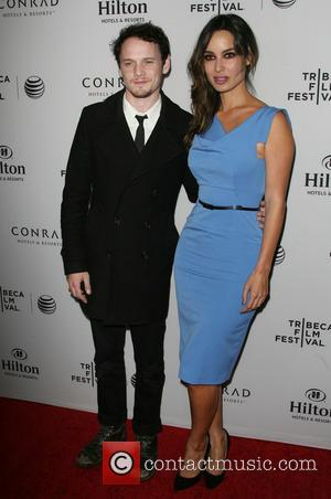 Anton Yelchin and Bérénice Marlohe - Los Angeles Celebration of The 2014 Tribeca Film Festival held The Beverly Hilton Hotel...