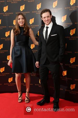 Jodie Comer and Dan Cohen - RTS Programme Awards 2014 held at Grosvenor House Hotel - Arrivals - London, United...