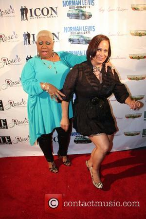 luenell and poetess - Luenell's Birthday Party at RnB Live - Arrivals - Los Angeles, California, United States - Thursday...