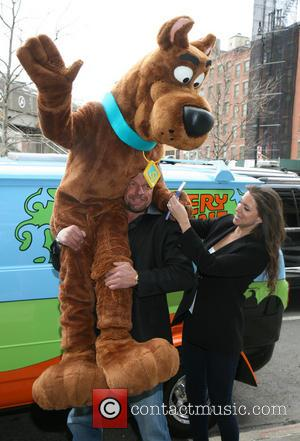 Scooby Doo, Triple H, Stephanie Mcmahon and Paul Michael Levesque