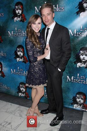 Samantha Hill and Guest - Opening Night After Party for Broadway's Les Miserables at the Imperial Theatre - Arrivals. -...
