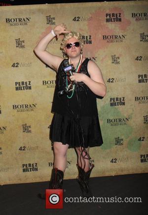 Meatballs - Perez Hilton hosts a Madonna themed party to celebrate his 36th Birthday - New York City, New York,...