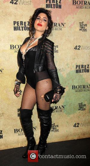 Natalie Guercio - Perez Hilton hosts a Madonna themed party to celebrate his 36th Birthday - New York City, New...