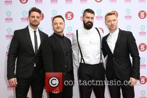 Keith Duffy, Mikey Graham, Shane Lynch, Ronan Keating and Boyzone