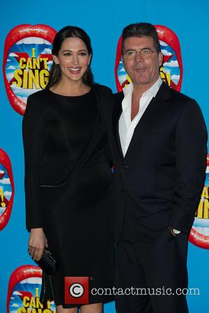 Lauren Silverman & Simon Cowell - The opening night of X Factor musical I can't Sing at the London Palladium...