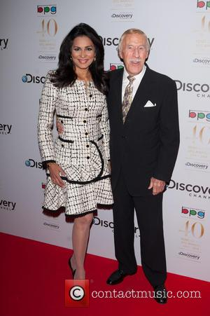 Sir Bruce Forsyth and Wilnelia Merced - Broadcasting Press Guild Awards held at the Theatre Royal - Arrivals. - London,...