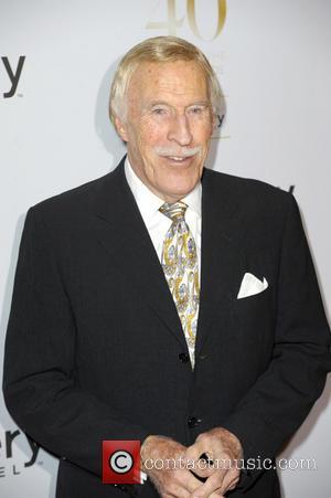 Sir Bruce Forsyth - Broadcasting Press Guild Awards held at the Theatre Royal - Arrivals - London, United Kingdom -...