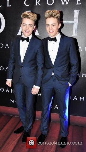 Jedward - Irish film premiere of 'Noah' at Savoy Cinema - Arrivals - Dublin, Ireland - Saturday 29th March 2014