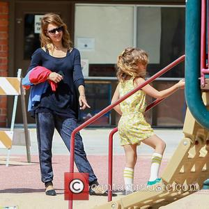 Jessica Alba and Jaime King - Jessica Alba and husband Cash Warren enjoy a day at Coldwater Park with their...
