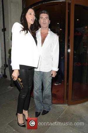Simon Cowell and Lauren Silverman - Simon Cowell and Lauren Silverman at Sanctum Soho - London, United Kingdom - Saturday...
