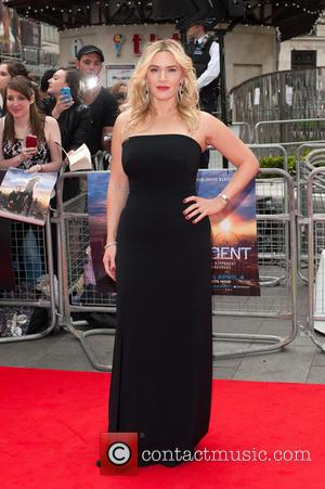 Kate Winslet - The European Premiere of 'Divergent' held at the Odeon Leicester Square - Arrivals. - London, United Kingdom...