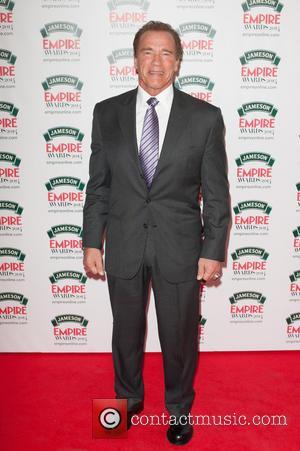 Arnold Schwarzenegger - Jameson Empire Awards 2014 held at The Grosvenor House - Arrivals. - London, United Kingdom - Sunday...