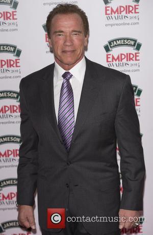 Arnold Schwarzenegger - The Jameson Empire Awards 2014 held at Grosvenor House - Arrivals - London, United Kingdom - Sunday...