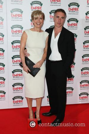 Emma Thompson and Greg Wise - The Jameson Empire Awards 2014 held at Grosvenor House - Arrivals - London, United...