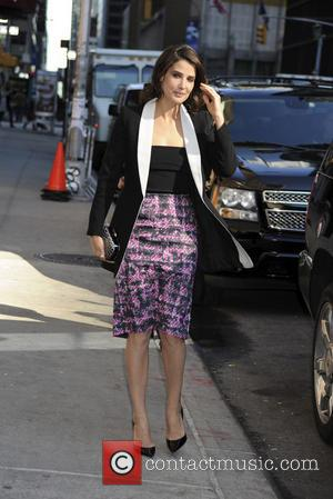 Cobie Smulders - 'Late Show with David Letterman', New York - New York, New York, United States - Monday 31st...