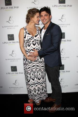 Linsey Godfrey and Robert Adamson - Jennifer Love Hewitt Celebrates the release of her New Baby Collection with Pea In...