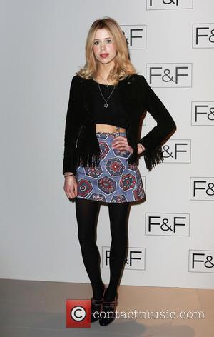 Peaches Geldof - F&F - A/W 2014 Fashion Show - Arrivals at Somerset House - London, United Kingdom - Thursday...