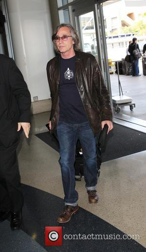 Jackson Browne - Jackson Browne at Los Angeles International (LAX) Airport - Los Angeles, California, United States - Friday 4th...