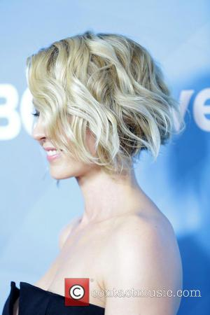 Jenna Elfman - Celebrities pose at 2014 NBCUniversal Summer Press Day at The Langham, Hunington Hotel and Spa in Pasedena....