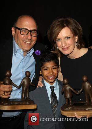 Willie Garson, Nathen Garson and Anne Sweeney - The Alliance For Children's Rights 22nd Annual Dinner_Inside - Beverly Hills, California,...