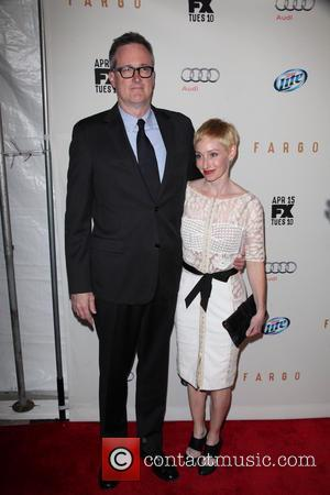 Bob Boyett and Guest - FX Networks Upfront Premiere Screening Of 'Fargo' at SVA Theater - Arrivals - New York...