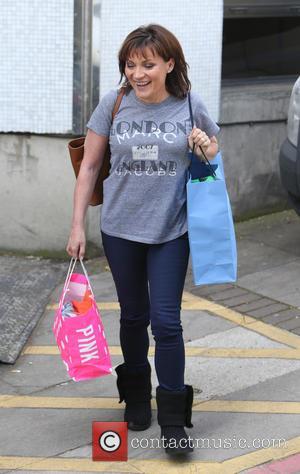 Lorraine Kelly - Lorraine Kelly outside ITV Studios - London, United Kingdom - Thursday 10th April 2014