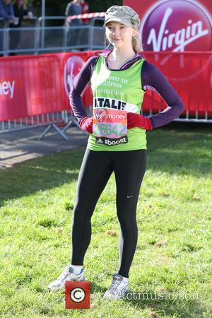 Natalie Dormer - Virgin Money London Marathon - London, United Kingdom - Sunday 13th April 2014