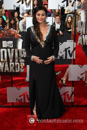 Jenni 'Jwoww' Farley - 23rd Annual MTV Movie Awards at the Nokia Theatre - Arrivals - Los Angeles, California, United...
