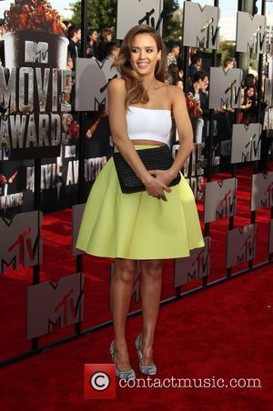 Jessica Alba - 23rd Annual MTV Movie Awards at the Nokia Theatre - Arrivals - Los Angeles, California, United States...