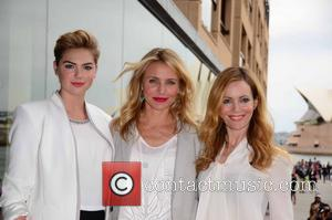 Kate Upton, Cameron Diaz and Leslie Mann - 'The Other Woman' Press Conference at the Park Hyatt - Sydney, Australia...