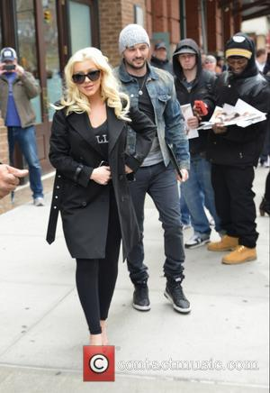 Christina Aguilera Undertakes Charity Work As She Prepares To Give Birth