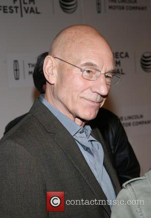 Patrick Stewart - 'Match' premiere at the Tribeca Film Festival - Arrivals - New York City, New York, United States...