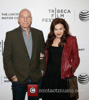 Patrick Stewart and Sunny Ozel - 'Match' premiere at the Tribeca Film Festival - Arrivals - New York City, New...