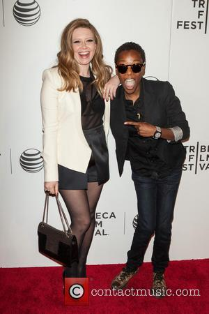 Natasha Lyonne and Samira Wiley - 'Loitering With Intent' premiere at the Tribeca Film Festival - Arrivals - New York,...