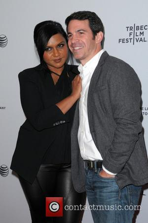 Mindy Kaling and Chris Messina