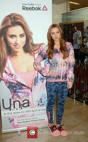 Una Healy Foden - The Saturdays singer Una Healy Foden launches Reebok Spring Summer Fitness Collection Life Style Sports Dundrum...