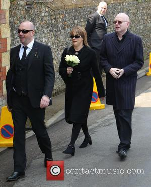 Mourners - The funeral of Peaches Geldof at St Mary Magdelene and St Lawrence Church in Faversham - Windsor, United...