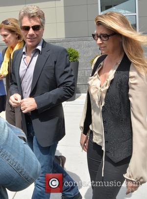 Jon Bon Jovi and Dorothea Jovi - Jon Bon Jovi attends the grand opening of JBJ Soul Homes, a low-income...