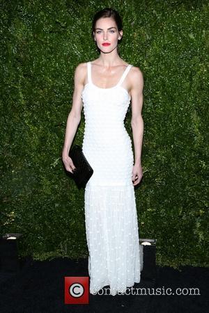 Hilary Rhoda - The Chanel Tribeca Film Festival Artist Dinner held at Balthazer - Arrivals - New York, New York,...